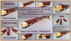 TOMS TECH TOYS: TRAINS LOCOMOTIVES Ho Train Sets, Ho Trains, Tech Toys, Locomotive, Toms, Japan, Locs, Japanese