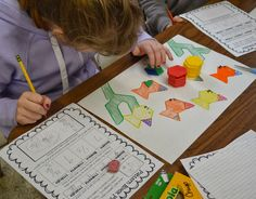 While we're on spring break, I want to share some recent photos from math class. My students did the (free!) Fractions Operations Project f. 3rd Grade Fractions, Fourth Grade Math, Math Fractions, Math Art, Fun Math, Math Resources, Math Activities, Operations With Fractions, Math Stem