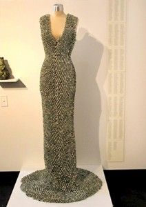 1 of 2: Paper dresses first made by the Scott Paper Company in 1966 and costing just one dollar, the very first marketed paper dress was an advertising tool. The surprise was that the company received 500,000 orders for that shapeless dress in less than a year.