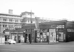 Granville Street at Cordova, Wednesday 20 May 1959 Source: Photo by Walter E Frost, City of Vancouver Archives #447-325