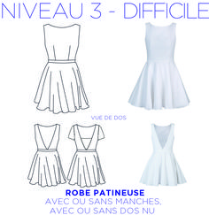 Patron – Skater dress, with or without backless, with or without sleeve, from 36 to Patrons by coralie-bijasson Source by lojipe Dress Sewing Patterns, Clothing Patterns, Convertible Clothing, Diy Vetement, Costume Tutorial, Couture Sewing, Diy Clothing, Mode Inspiration, Fashion Outfits