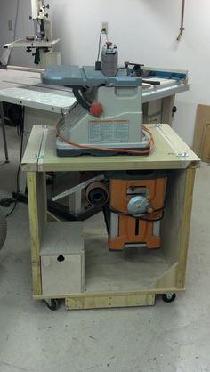 Planer + Sander cart - by mnguy @ LumberJocks.com ~ woodworking community