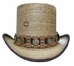 fe9a81a7fdf Charlie 1 Horse Quick Draw Straw Top Hat Charlie 1 Horse Hat