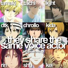 Anime fact ~VARIOUS~