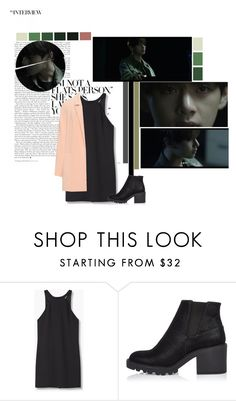 """""""Taehyung_Stigma"""" by taehyung-xo-101 ❤ liked on Polyvore featuring MANGO, River Island and Manon Baptiste"""