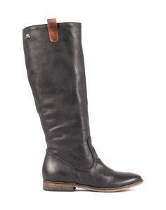 90029 mtng mustang mujer bota rustico negro cuero