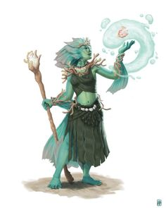 [OC] Coastal Triton Druid : characterdrawing Fantasy Character Design, Character Creation, Character Drawing, Character Design Inspiration, Character Concept, Concept Art, Story Inspiration, Dungeons And Dragons Characters, Dnd Characters