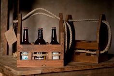 The Brew Box craft beer carrier by timberandgrist on Etsy