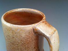 Wood Fired Mug 17 wheel thrown stoneware by williambaker on Etsy, $30.00