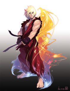 Super Street Fighter Ken ::R:: Street Fighter Ken, Capcom Street Fighter, Super Street Fighter, Ken Masters, Character Art, Character Design, Bartop Arcade, Comic Drawing, King Of Fighters