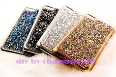 luxurious rhinestones custome iphone 5s case Bling by charmscrafts, $18.99