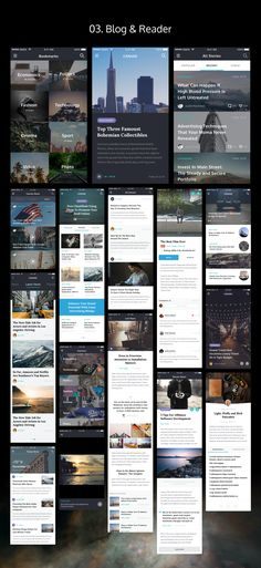 Premium pack of 120+ elaborate iOS screens in seven categories that can help you to create your own app design or prototype. Each screen is fully customizable and exceptionally easy to use.  Categories include: Login & Walkthough, Reader & Blog, Ecommerce, Socials, Finance, Multimedia and Navigations