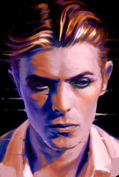 Art Tributes to David Bowie | Parka Blogs