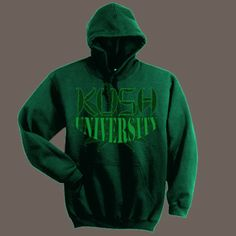 Addicted Couple Off Shoulder Sweater Hoodie Sweatshirt Hooded Weed Kush PG B