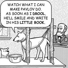 Pavlov's dog...not as you expected