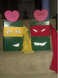 TMNT Valentines Day box
