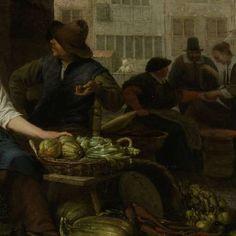 The Vegetable Market, Hendrick Martensz. Sorgh, 1662 - Search - Rijksmuseum