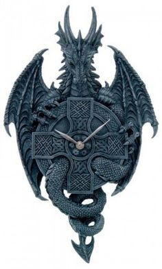Picture of Black Dragon Clock