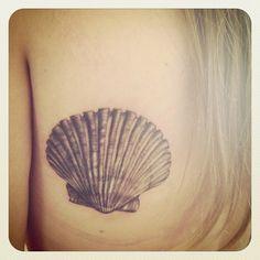 seashell tattoos   Pin Sea Shell Flower Crochet Mini Scarf Make Handmade on Pinterest
