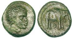 Hannibal of Carthage coin