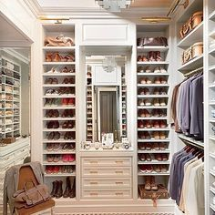 10 Closets and Dressing Rooms from the AD Archives : Architectural Digest