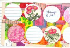 index card journal