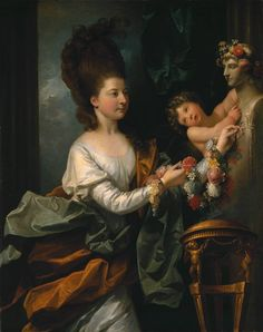 Benjamin West, 'Lady Beauchamp-Proctor' 1778