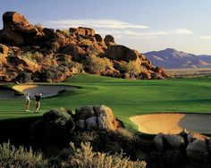 Troon North - one of my favorite golf courses. Desert golf is tremendous.