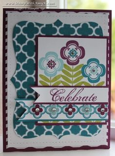 Made with SU Madison Avenue stamp set - by AmyK