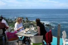 Georges at the Cove - georgeous views of the ocean and La Jolla Cove