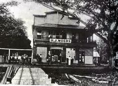 samoa 1889 -Moors Store