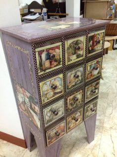 Decoupage on Pinterest | Decoupage Furniture, Decoupage Tutorial and ...