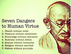 7 Dangers to Human Virtue