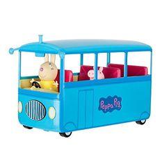 Peppa Pig Autobús Escolar, Bing Bong Reproduce La Canción | MelonCargo.com
