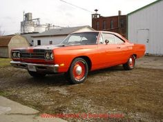 Plymouth - 1969 Roadrunner