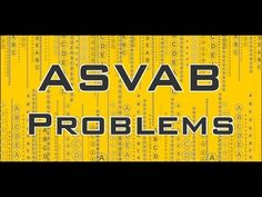 http://www.myasvabsecrets.com ASVAB Practice Test Problems - Free ASVAB Math Review. Get everything you need for ASVAB success in our study guide. Take advantage of practice tests, and helpful study techniques to achieve your goal of getting a great score on your ASVAB!  #asvab #mometrix