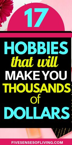 Here's a list of 13 profitable hobbies that make money. Don't waste your time trying to figure out how to make extra money this list has everything you need. Hobbies For Couples, Cheap Hobbies, Hobbies For Women, Hobbies That Make Money, Fun Hobbies, Make Money Fast, Ways To Save Money, Earn Money Online, Make Money Blogging