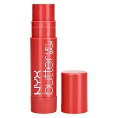Nyx Butter Lip Balm in Red Velvet. First impressions: soft red color, pigmented, it got a bit gunky after 30 minutes of wear, was moisturizing for about an hour before I needed to reapply, left a faint stain. I feel pretty meh about this product.