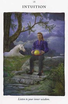 """Intuition"" - Unicorn Card – Diana Cooper"