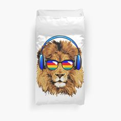 Lion Design, Duvet Covers, Chill, My Arts, Art Prints, Printed, Awesome, Artist, Shop