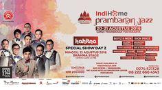 Prambanan jazz, ticket is available at The Alana Yogyakarta