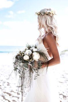 (notitle) - Nic & Nelly photo ideas for wedding - Hochzeitskleid Wedding Goals, Destination Wedding, Dream Wedding, Wedding Day, Wedding White, Boho Wedding, Beach Wedding Headpieces, Headpiece Wedding, Bridal Hair