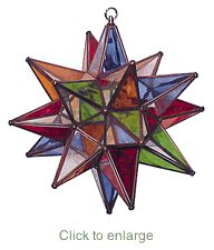 Mexican Star Light...this one would look really cool in my kitchen!