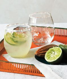 Classic Margarita Recipe. You'll be amazed at how easy the are to make.
