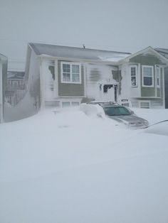 Winter storm in Newfoundland & Labrador