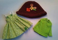 3 piece Little Forest Girl set for Blythe by RainbowDaisies