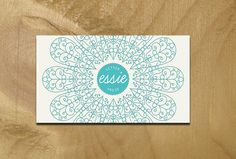 essie business card    business card mock up