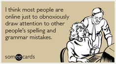 Somee Cards...so funny...so offensive at times (which is why I secretly love them).