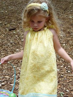 Candace Creations: How to make a Pillowcase Dress