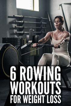 Weight Machine Workout, Workout Machines, Rowing Machine Workouts, Rowing Machines, Rower Workout, Aerobics Workout, Gym Workouts Women, Gym Workout For Beginners, Best Cardio